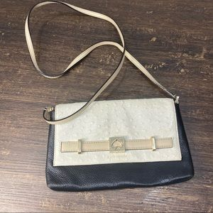 Kate Spade Croc embossed Leather Classic Crossbody